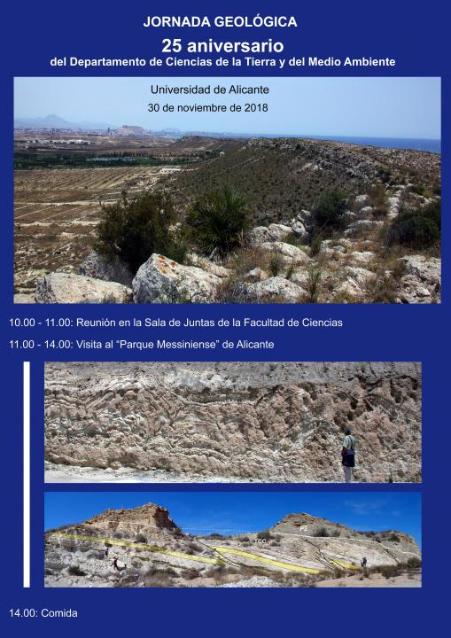 Environment and Earth Sciences Department  University of Alicante
